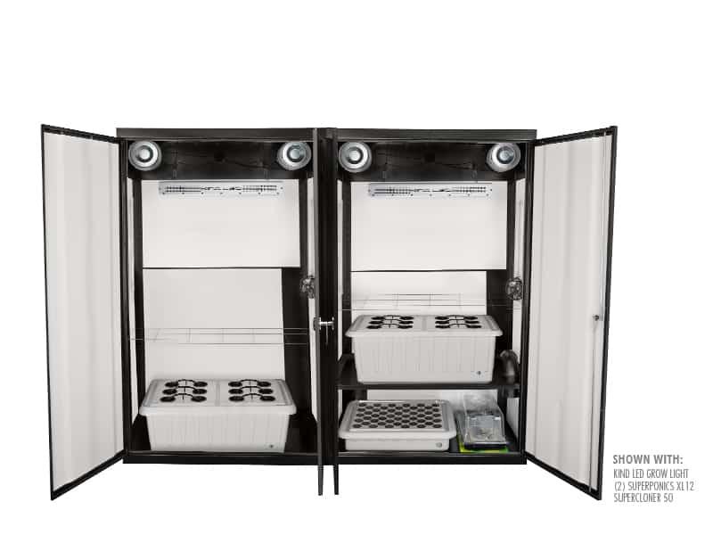 SuperCloset SuperTrinity Smart Grow Closet System