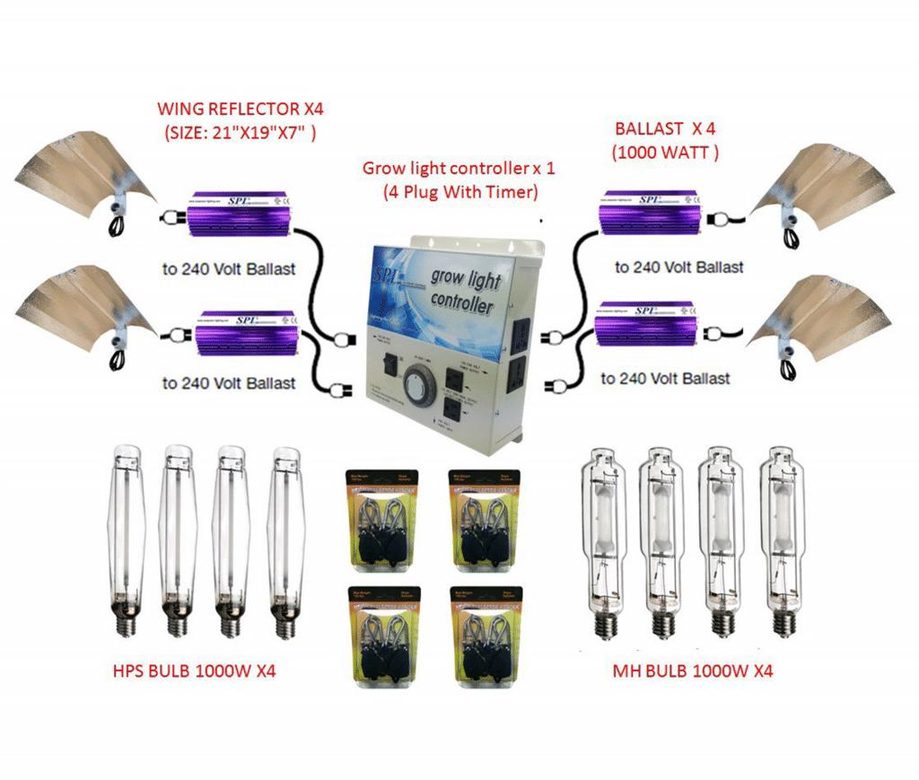 SPL Horticulture 1000 Watt Grow Light-1