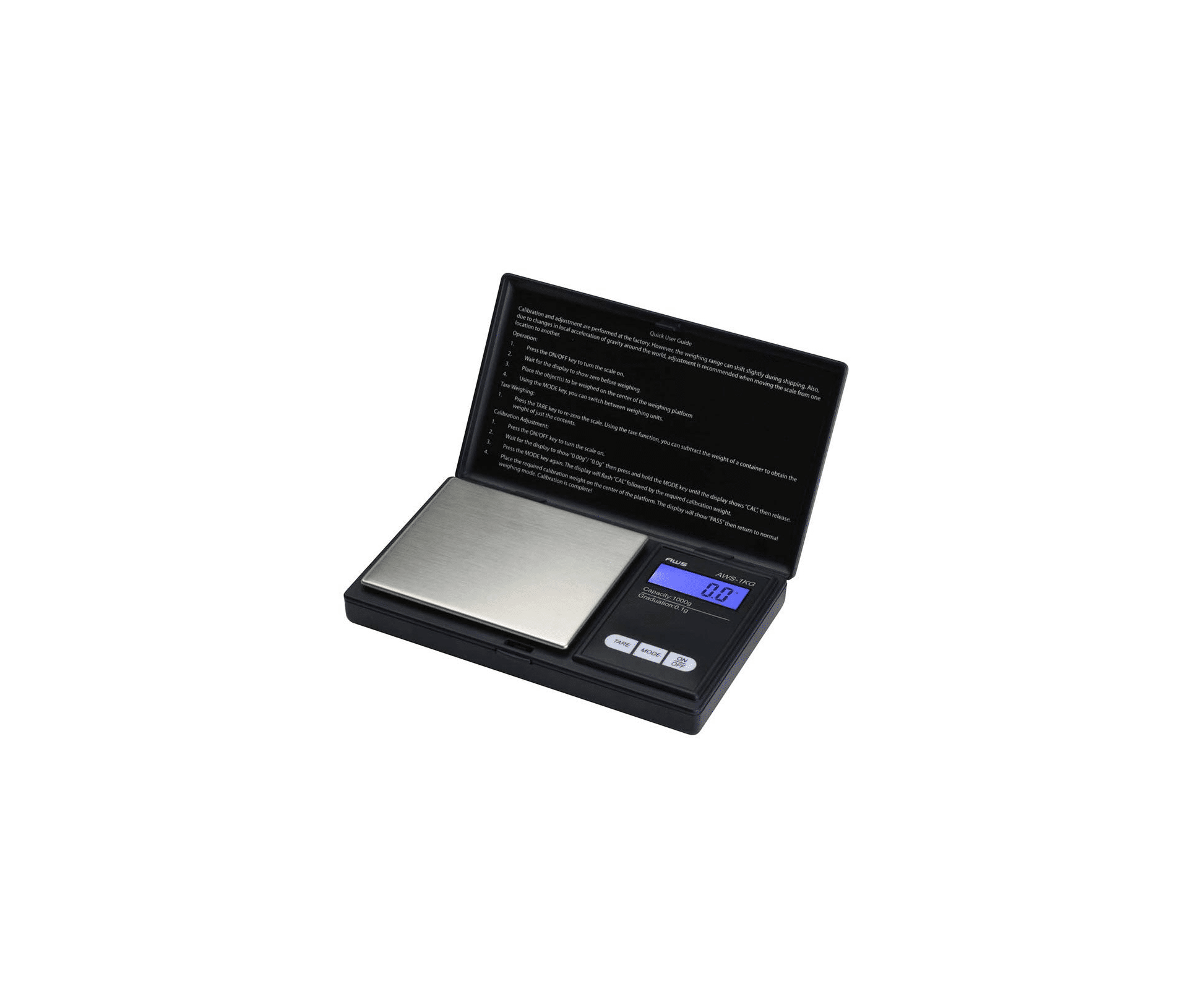 American Weigh Scale Signature Series Digital Precision Pocket Weight Scale