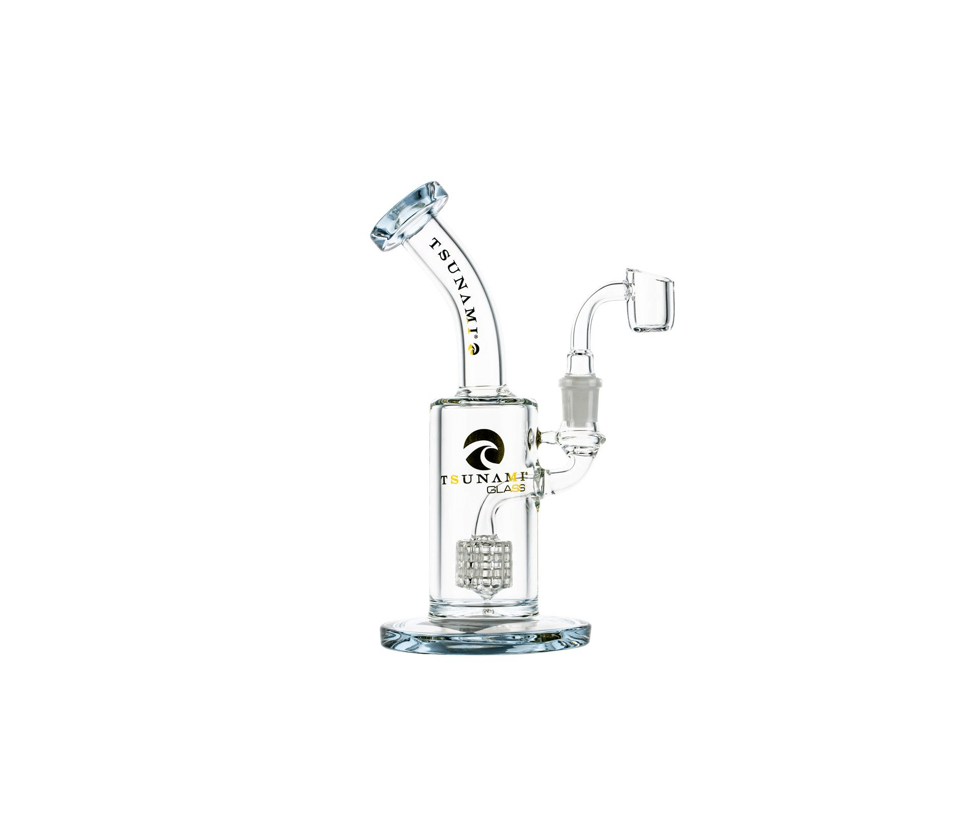 Tsunami Glass Showerhead Dab Rig