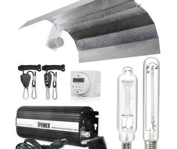 Our Choice IPOWER 600 Watt HPS Grow Light Kit best HPS grow lights