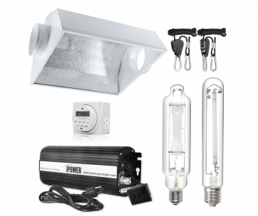 IPOWER 600 Watt HPS Grow Light Kit-1