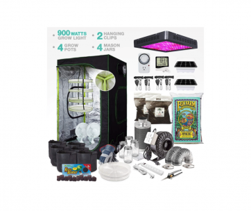 Image of grow tent kit used for a product review best grow tent kits